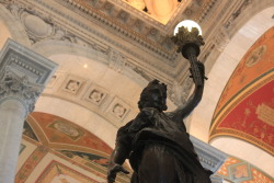 A book guardian at the Library of Congress.