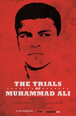 (via First Official Poster For 'The Trials of Muhammad Ali' Is A Tidal Wave Of Red | Shadow and Act)