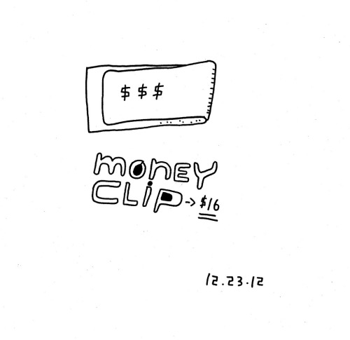 Daily Purchase Drawing for 12.23.12  Money Clip