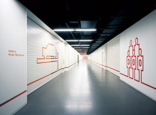 (via GRAPHIC AMBIENT » Blog Archive » Nissan Design Center, Japan)