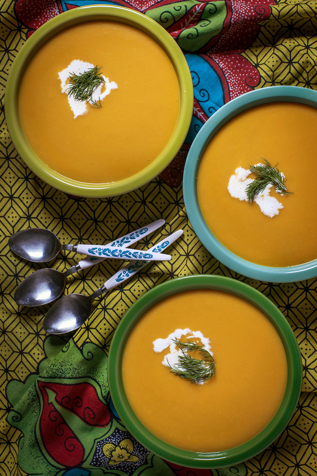 Rutabaga and Carrot Soup - Gourmet: April 1977