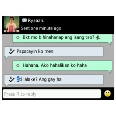 Kay Ryan yung green bubble chat.