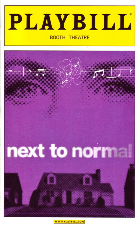 todayonbroadway:  April 15, 2009Next to Normal opened on this date 4 years ago, starring Alice Ripley and J. Robert Spencer. The musical won the 2010 Pulitzer Prize for Drama and three Tony Awards, including Best Actress in a Musical for Ripley.