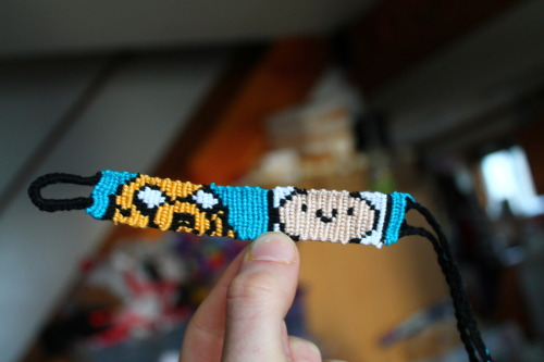 takewonder:  Adventure time bracelet. Coming soon to my shop : www.etsy.com/shop/TakeWonder