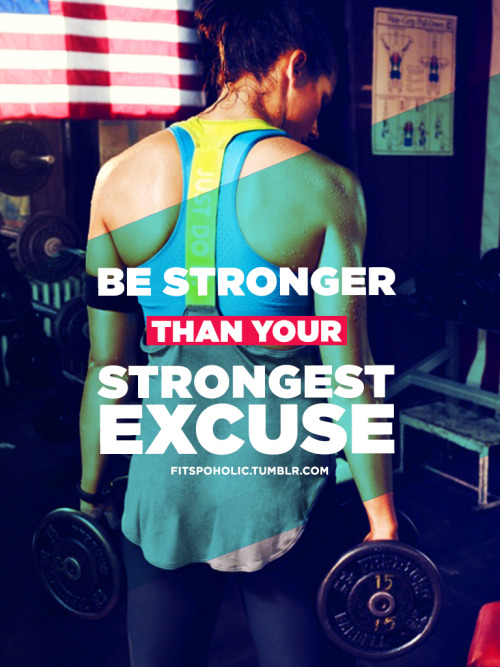 fitspoholic:  BE STRONGER :) Enjoy <3  PS this can be used for iphone and ipad :) More Fitspo wallpapers here
