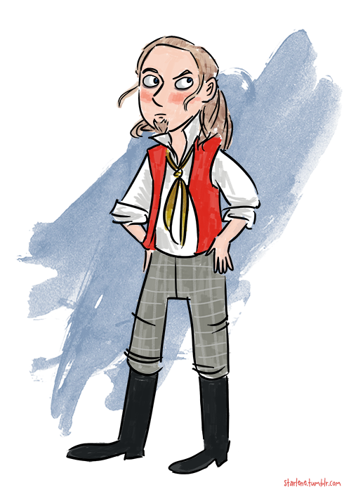 So let's get the TT Les Mis fanart season started! Here's Enjolras.
