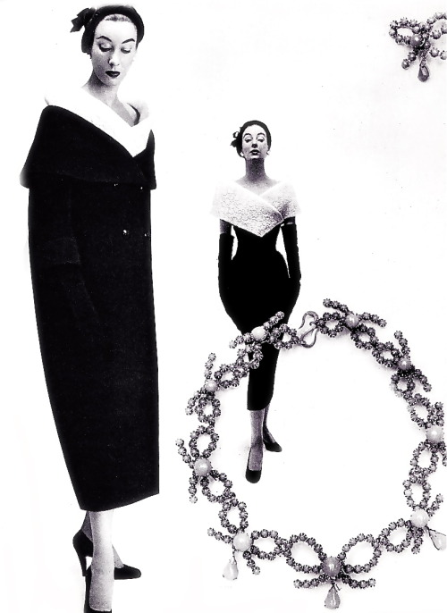 Fashion by Christian Dior, 1953
