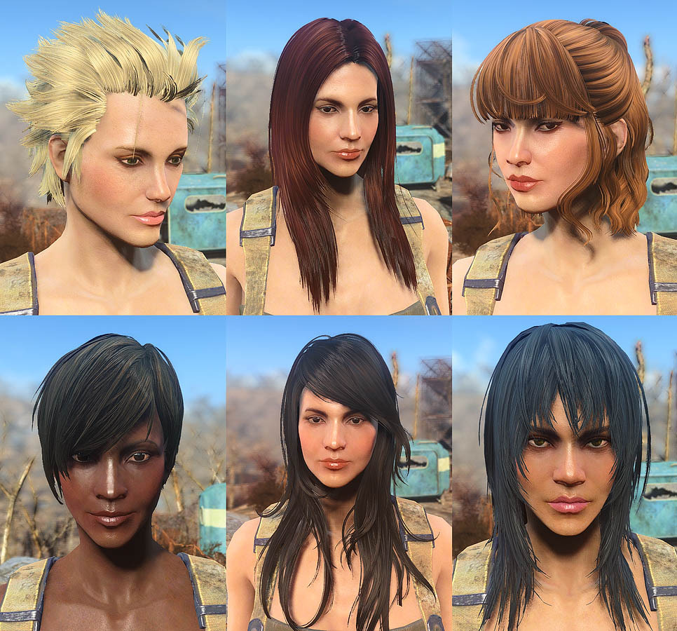 Fallout 4 the hair is misc hairstyle 1 6