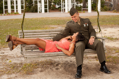 militaryweddings:  (submitted by camille1618)