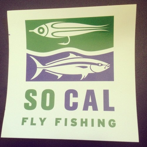 And it's started!  (at SoCal Fly Fishing)