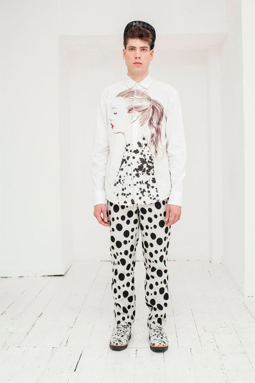 Dalmatian-inspired A/W 13/14 collection by London #menswear designer @joseph_Turvey