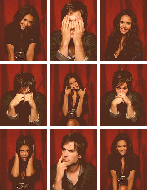 Ian x Nina - [TV Guide Photo Booth]