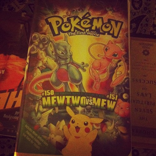 I knew that moving here was a good idea. #pokemon #muthafuckinmewtwo