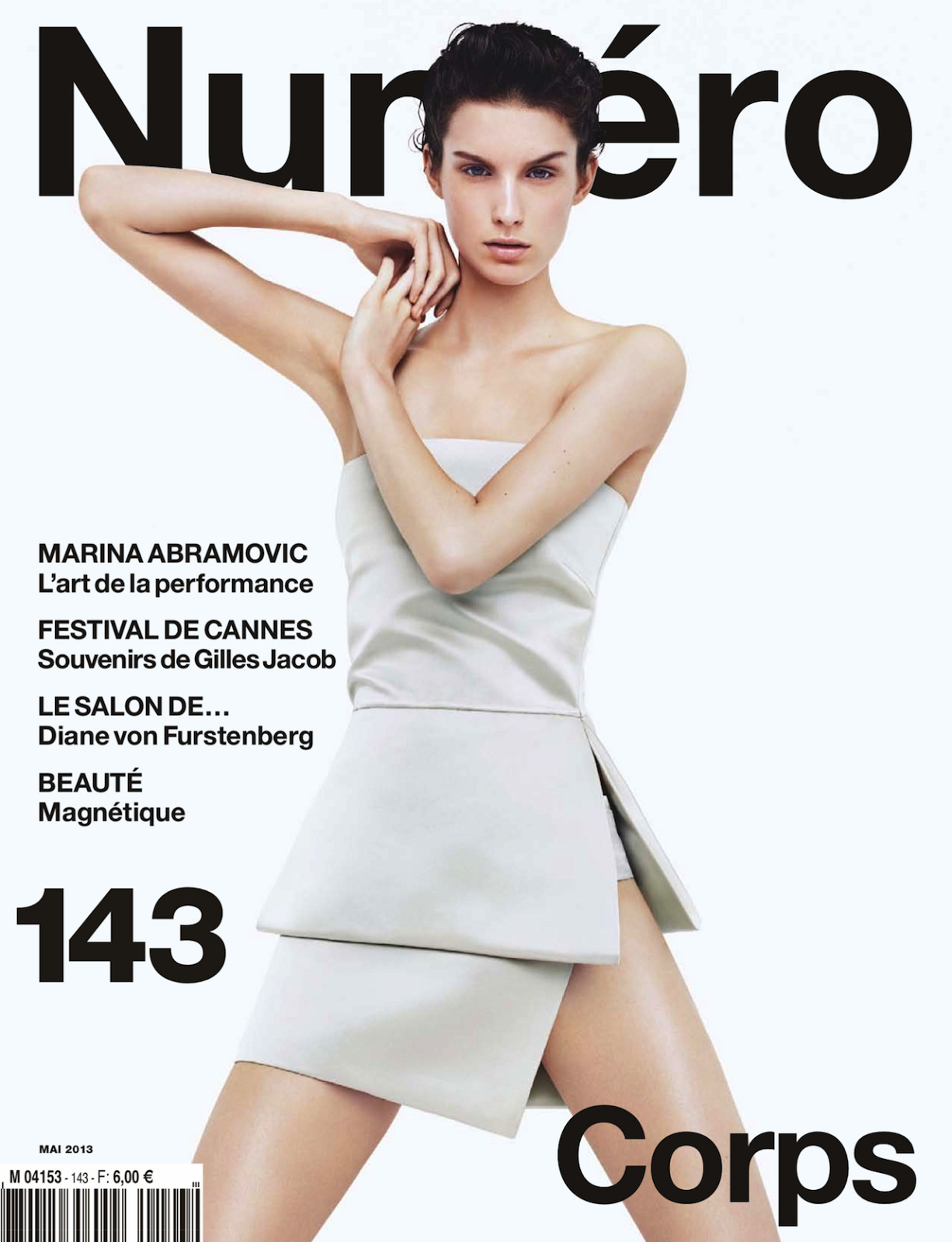 Numéro #143 May 2013 Cover | Marte Mei Van Haaster by Jacob Sutton