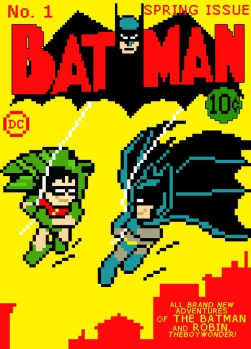 What if digital comics were on NES? More here: http://www.epic-randomness.com/tag/pixel-art/