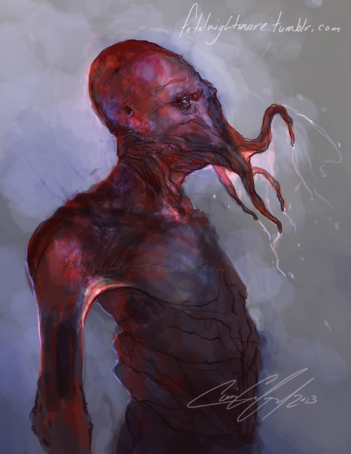 "fetalnightmare:   ""Art block? WHY NOT PAINT ZOIDBERG?!""  don't mind me just creepin' outta my art hiatus warmin up the tablet with a speed paint"