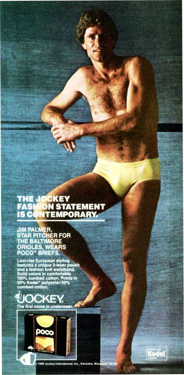 THE JOCKEY FASHION STATEMENT IS CONTEMPORARY Newsweek, 1980