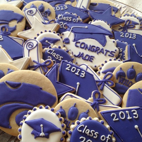 My mom got me some legit K-State cookies for graduation. #kstate13