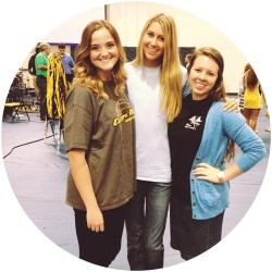 Last chapel as juniors with my chapel leadership gals. Love y'all! @hannahwentland @leahdianee
