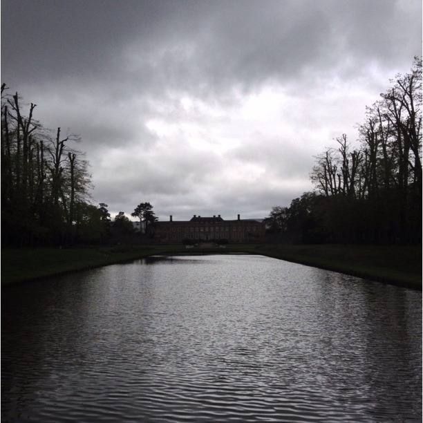 The long lake at Erddig. Erddig Hall is a National Trust property on the outskirts of Wrexham, Wales. Located 2 miles south of Wrexham town centre, it was built in 1684–1687 for Joshua Edisbury, the High Sheriff of Denbighshire. It was the home to the Yorke family until is was bequeathed to the NT in the late 70s. Erddig is unusual in that the family treated the staff very well and took photographs of them and wrote poems about them. Erddig focuses on servant life and is a refreshing change from the usual way that the NT present their properties.  Discovered at Erddig National Trust House, Erddig, Wales. See more at Trover