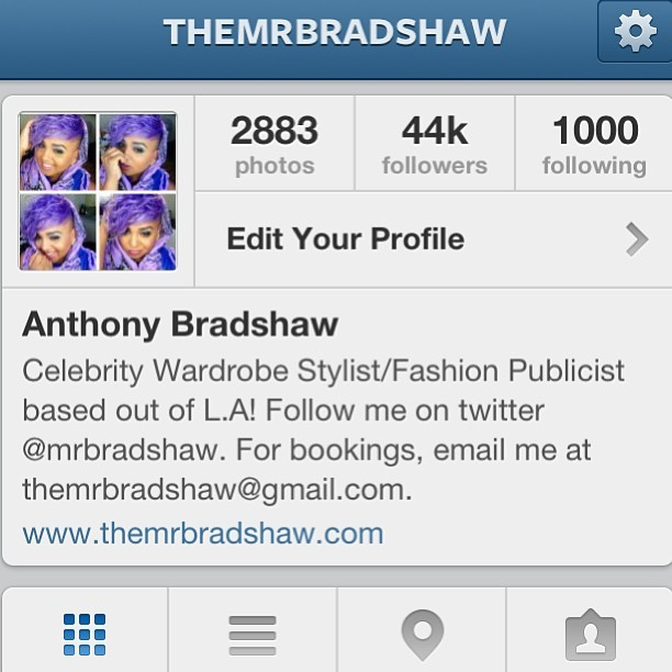 Look who made it to the 44K mark? 😉 👋 New Followers! The #BradshawMafia is unstoppable! 👆👊 #youmad #hihater