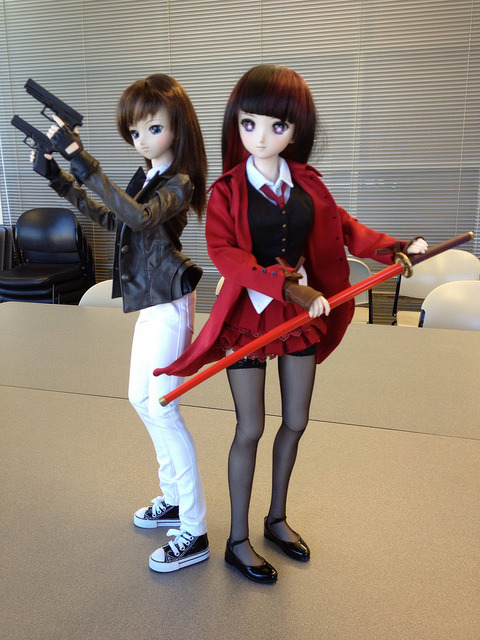 Rin x Saber @ Central AR Doll Meet Feb 2013 on Flickr.Dangerous girls