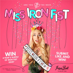 Graphic: Miss Iron Fist 2013 Drawing, photoshopping, designing for the 9 to 5. See a small, making-of-the-graphic GIF here. Enter the real contest here. :)