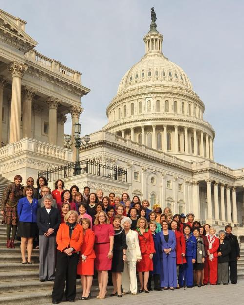 The 113th Congress, officially sworn in today, is the most diverse in American history - including a record-breaking number of women! http://thebea.st/WfxFAk