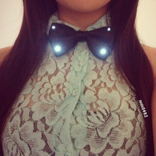 My light up #BowTie lol 😊