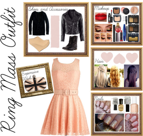 Ring Mass Outfit by wardrobeofmylife featuring nars cosmetics