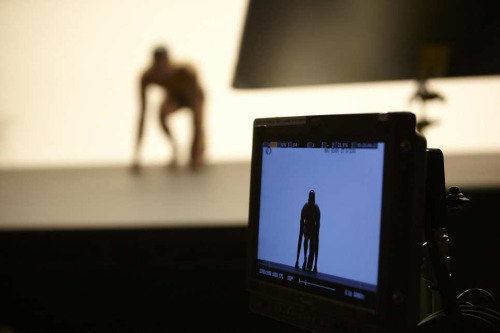 A sneak peek from the set of our Calvin Klein Concept photo shoot.