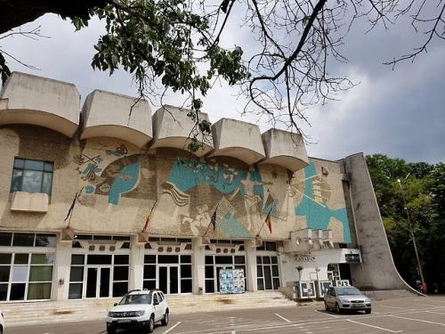 socialistmodernism nagyvárad épület buildings szocmodern mozaik