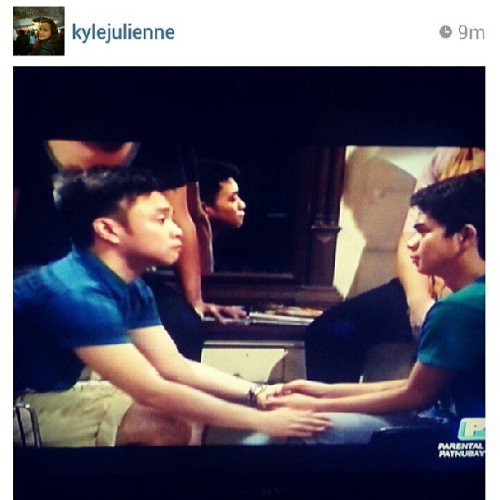 It's me on @MMKOfficial!!! Thanks for the photo @kylejulienne!!! #GGSS