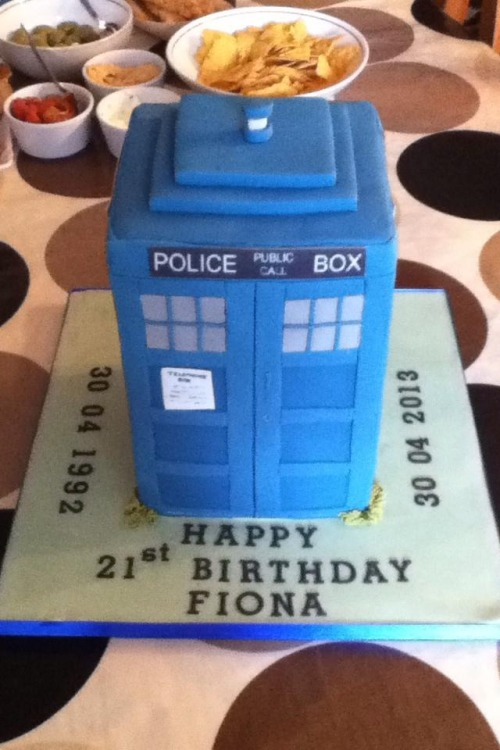 staaanakatic:  My friends sister's birthday cake…