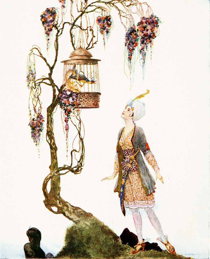 Willy Pogany From 'Arabian Nights'