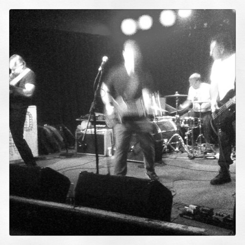 Attic Attack attacking the stage. Eh? Eh?  (at Marquis Theatre)