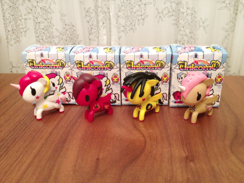 *SOLD* THANK YOU Unicorno Series 1 by Simone Legno (Tokidoki) (All toys have not been displayed only opened for photo.) Stallina *SOLD* Peperino *SOLD Ritmo *SOLD* Dolce *SOLD*