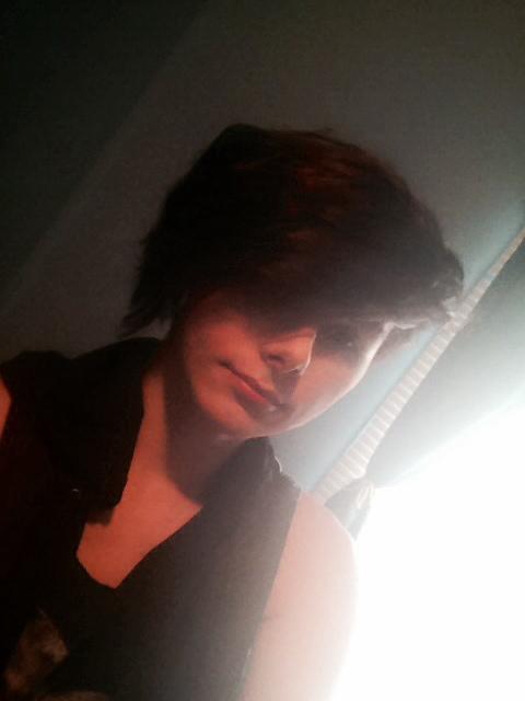 me sellfie selfies my face punk gay af tho