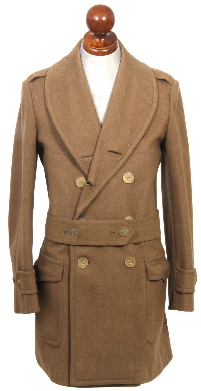 ShawlCollar  It's on E-Bay a fantastic pre-war (1926) unlined military coat, if your a size 38, and need a cold weather coat…