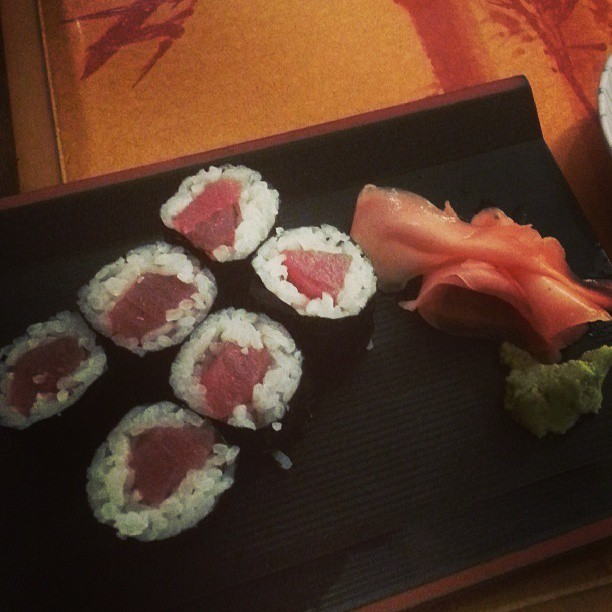 #sushi #tuna #brandon (at Yokohama)