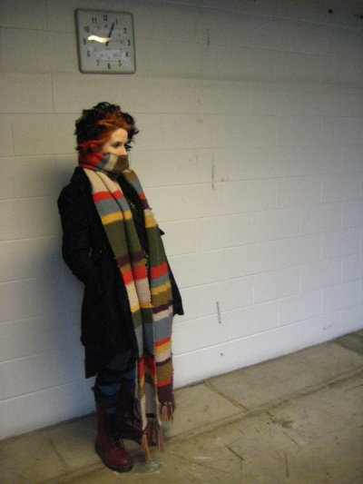 smudgethistle:  The Scarf by ~SmudgeThistle My Doctor Who scarf! :D I made it a few years ago but I had never posted a picture of it… So I'm doing that now. It's the coziest thing in the world; part scarf, part blanket, part rope, part icebreaker…
