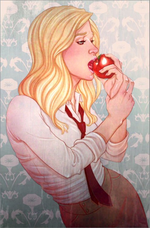 nickspencerly:  Jenny Frison (REVIVAL) cover for MORNING GLORIES 027!  All these covers are order-able via Diamond, no incentives or exclusives. All you gotta do is tell your retailer which one you want!