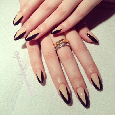 classyvuitton:  http://instagram.com/keepitklassyy  My nails right now