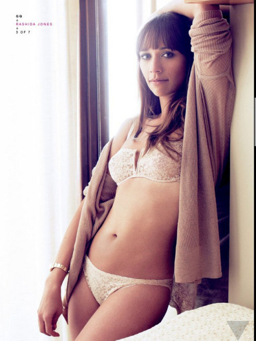 howprecious:  Rashida Jones  I'm always struck by the number of random sexy photos of actresses. I see them a lot on tumblr, when I go on tumblr. Who decides to do these shoots? Is it simply to build up stock photos of sex appeal?  Is it terrible, that despite my ire of this objectification of women, I still love the occasional Star Magazine (TM) Best and Worst Swimsuit Bodies Edition?
