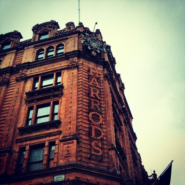 benedettacerri:  #london#harrods#brompton#road#shopping#happy ❤
