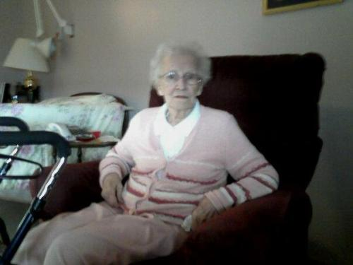 creepsylvania:  This is my Nanny that passed away about 2 years. It was very hard on me when she passed and holidays always make me upset without her. Easter was always something we would celebrate. It doesn't get easier.   Try not to think of when she died but think of when she lived. That helps.