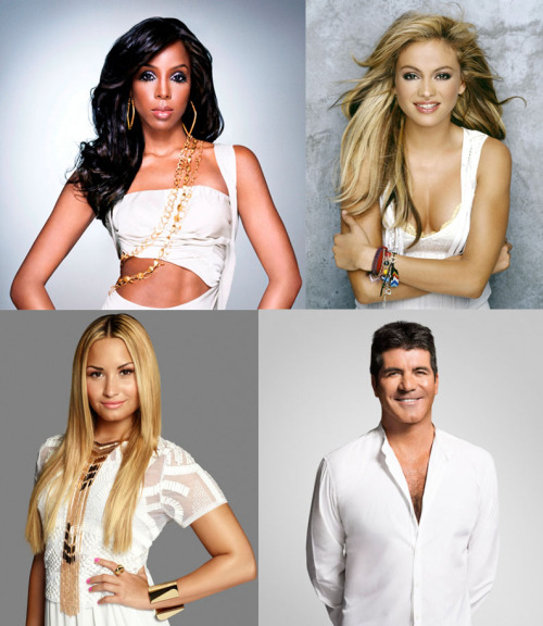 Meet Simon's Angels as Kelly Rowland and Paulina Rubio join Demi Lovato for S3 of The X Factor USA. Read more HERE