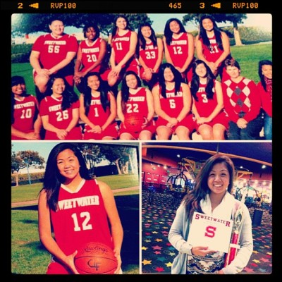 My sister had her varsity bball banquet today =]. Team Captain. & Most Improved Player. @ohwowadrielyn