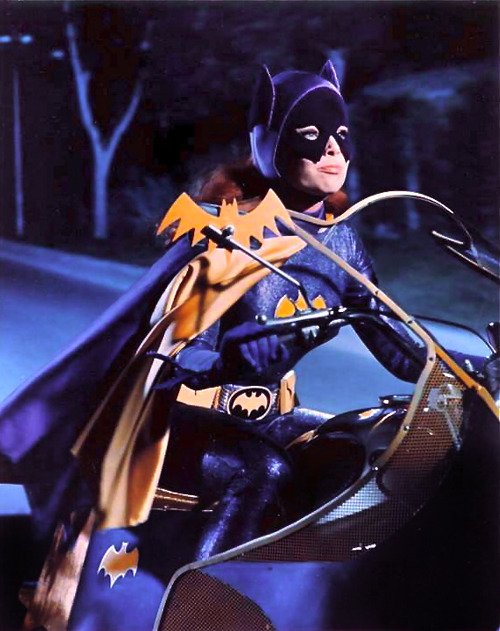 vintagegal:  Yvonne Craig as Batgirl, 1960s