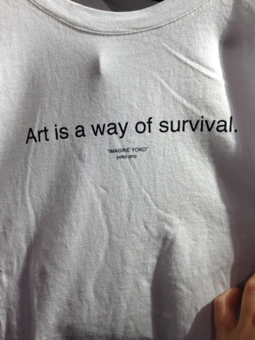 thvnder:  Art is a way of survival / my photo